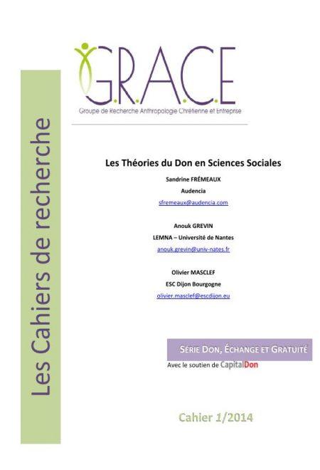 Cahier du GRACE 3