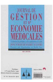 Journal de Gestion et d'économie médicales