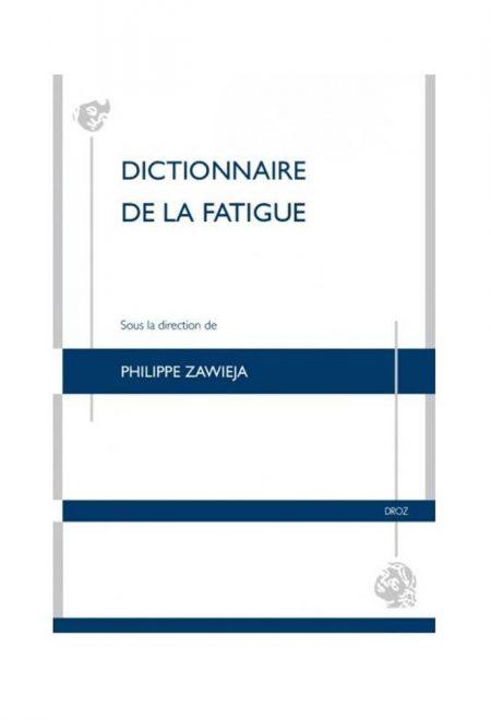 Dictionnaire de la fatigue